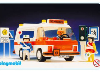 Playmobil - 3521v1 - School Bus