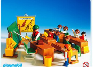 Playmobil - 3522 - Classroom - Brown