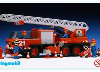Playmobil - 3525v1 - Firemen truck