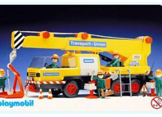 Playmobil - 3527 - Mobile Crane