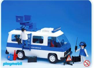 Playmobil - 3530v1 - Television International van