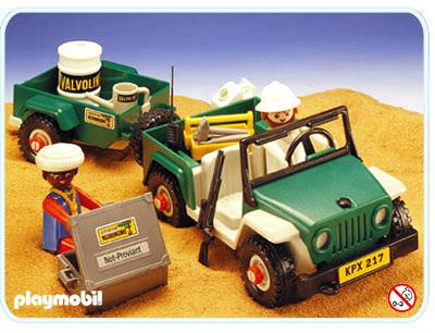 playmobil set 3532v2 green jeep in the desert klickypedia. Black Bedroom Furniture Sets. Home Design Ideas