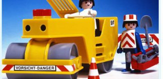 Playmobil - 3533 - Road Roller
