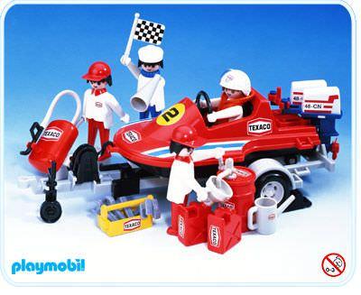 Trailer 3538-A Klicky 1979 Playmobil Playmobil Rennboot