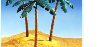Playmobil - 3549 - 3 Palm Trees