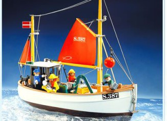 Playmobil - 3551 - Fishing Boat Susanne