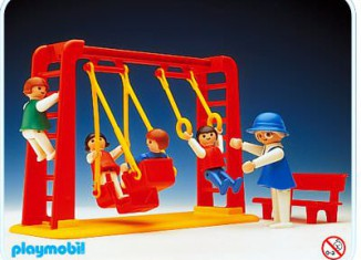 Playmobil - 3552 - Children With Swing