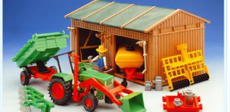 Playmobil - 3554 - Shed / Tools / Tractor