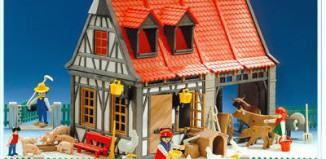 Playmobil - 3556 - Barn & Animals