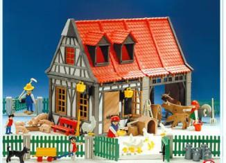 Playmobil - 3556 - Barn & Animals