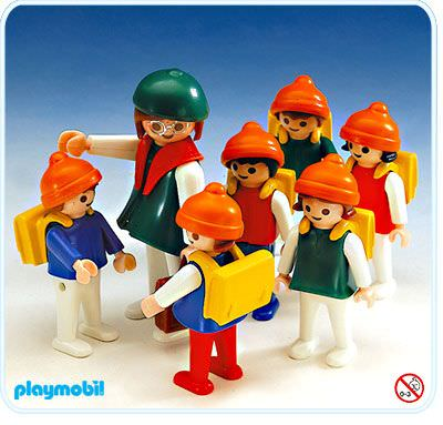 Playmobil Set: 3560 - Teacher and class - Klickypedia