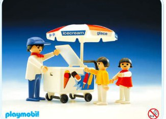 Playmobil - 3563 - Ice-Cream Cart