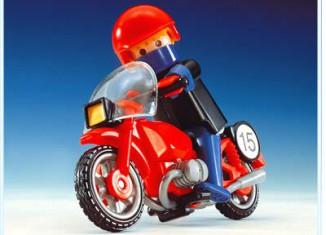Playmobil - 3565 - Motorrad/Rennfahrer