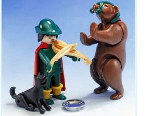 Playmobil - 3567v1 - Tamer with Bear