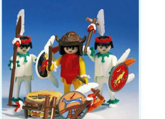Playmobil - 3569 - Medicine Man and Warriors
