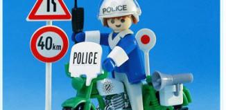 Playmobil - 3572 - Policeman / motorbike