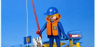 Playmobil - 3574v1 - Fisherman In Rowboat