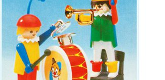 Playmobil - 3578 - Clowns musicians
