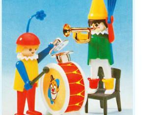 Playmobil - 3578 - Clowns musicians