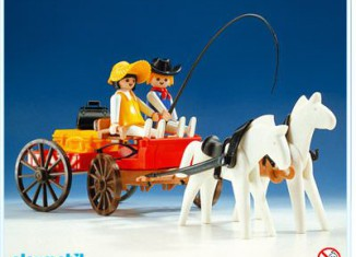 Playmobil - 3587v1 - Western Farm Wagon