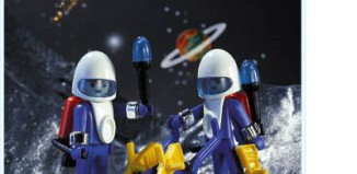Playmobil - 3589 - 2 Astronauts / Cart