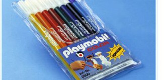 Playmobil - 3600 - Color Markers, 8-pack