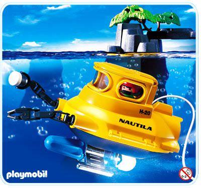 Playmobil Set 3611s2 Deep Sea Submarine Klickypedia