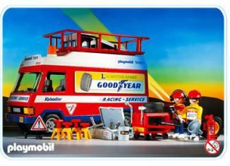 Playmobil - 3614 - Racing Service Truck