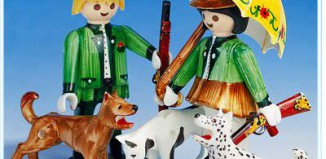 Playmobil - 3617 - Hunters with dogs