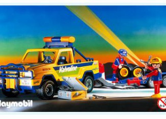 Playmobil - 3618 - Off-Road Service Vehicle