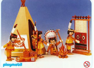 Playmobil - 3621 - Indians / Teepee