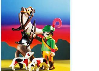 Playmobil - 3629 - Mounted Hunter