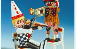 Playmobil - 3644 - Clowns musiciens