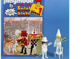 Playmobil - 3645s1 - Toy-box No. 1 - Circus