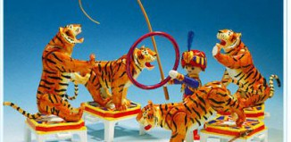 Playmobil - 3646v1 - Tigerdressur