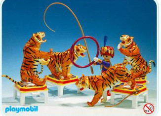Playmobil - 3646v1 - Tiger Trainer