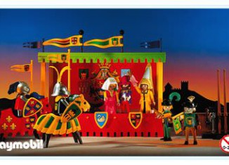 Playmobil - 3652 - Tournament Knights With Viewing Stand