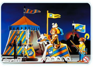 Playmobil - 3654 - Knights Tournament Tent