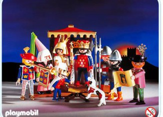 Playmobil - 3659 - King and His Court