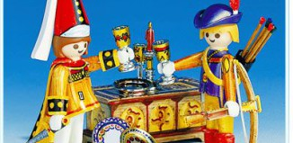 Playmobil - 3663 - Archer & Courtesan
