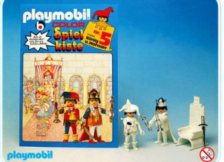 Playmobil - 3664s1 - Toy-box No. 5 - King and Court Jester