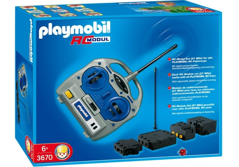 Playmobil 3670 - Remote Control Module - Box