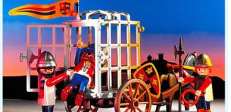 Playmobil - 3674 - Knights Prison Cart