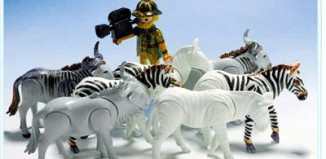Playmobil - 3677 - Zebras and Naturefilmer