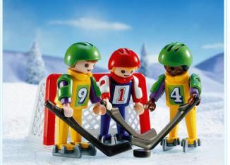Playmobil - 3685 - Eishockeyspieler mit Tor
