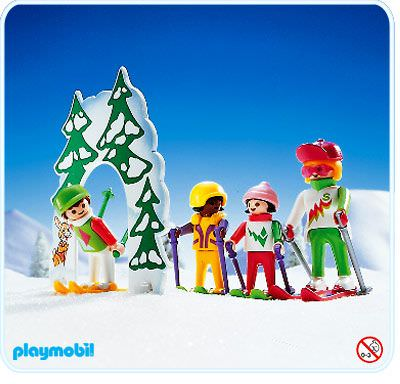 playmobil 3687 ski school - Playmobil Ski