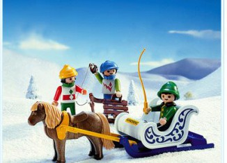 Playmobil - 3689 - Pony Sleigh