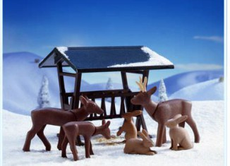 Playmobil - 3692 - Deer And Feeder