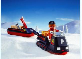 Playmobil - 3694 - Black Snowmobile