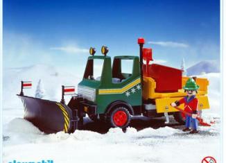 Playmobil - 3695 - Snowplow